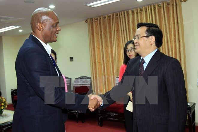 South Africa happy about Vietnam's achievements