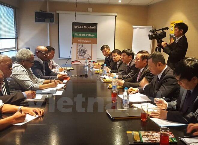 Việt Nam-Nam Phi tăng cường hợp tác thông tin tuyên truyền đối ngoại