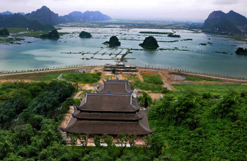 tam chuc pagoda - an attractive spiritual tourism complex in vietnam hinh 0