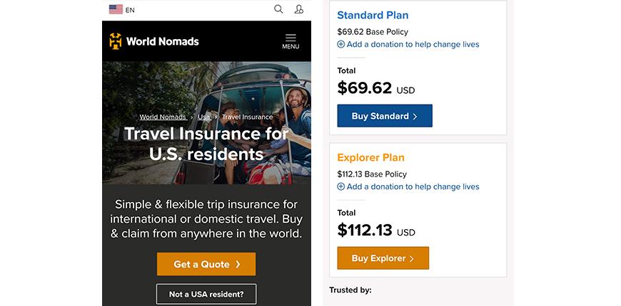 world nomads mobile screenshots