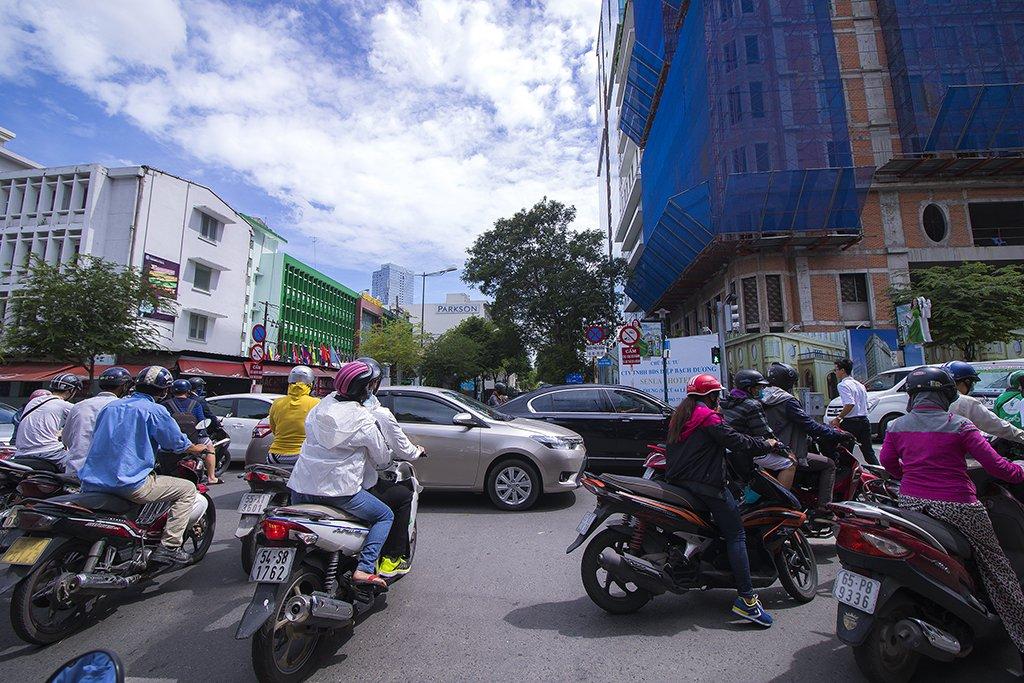 Getting around Saigon