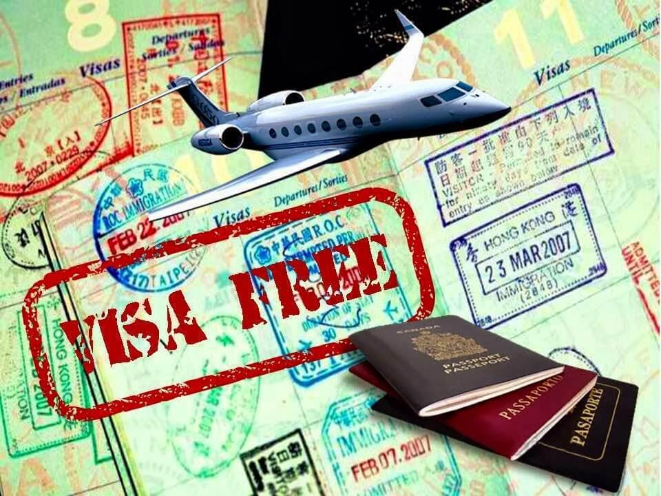 sách các nước miễn visa cho Việt Nam 2020